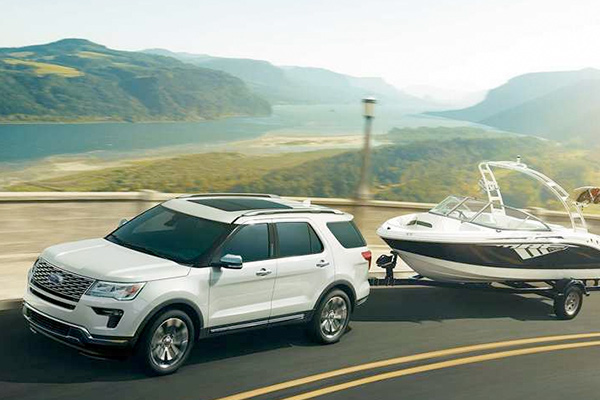 The 2018 Explorer Pulling Boat