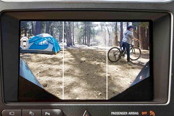 The 2018 Explorer Rear Camera