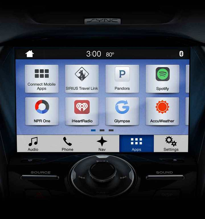 SYNC® 3 infotainment system with Wi-Fi® hotspot