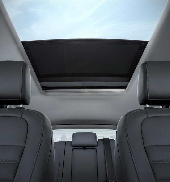 Available Panoramic Vista Roof