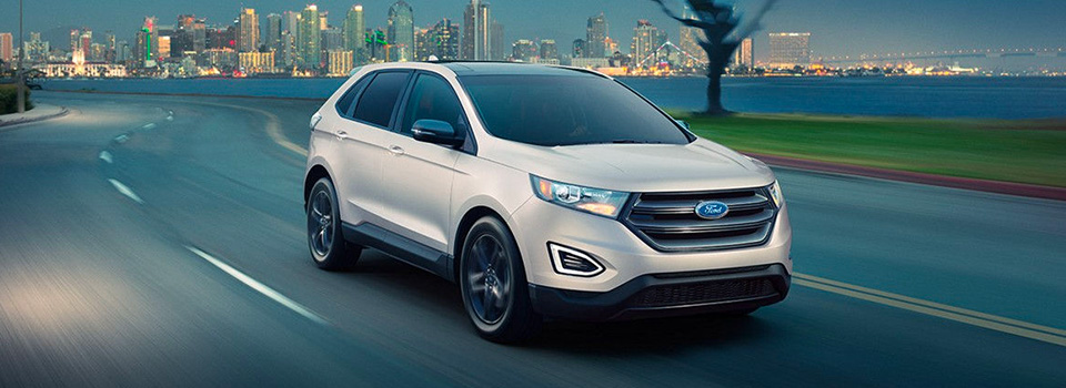 Ford Edge Interior And Exterior Images